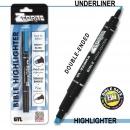 Highlighter-Zebrite Carded-Blue