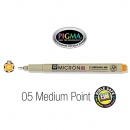 PIGMA Micron 05, Medium Bible Note Pen/Underliner, Orange