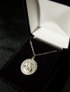 "St. Joseph 18"" Silver Plated Necklace"