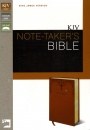 KJV Note-Taker's Bible, Italian Duo-Tone