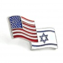 USA / Israel Lapel Pin