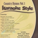 Karaoke Style: Country Hymns, Vol. 1 image