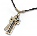 His Armor Cross Necklace