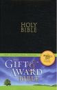 NIV Gift & Award Bible: Leather-Look | Black